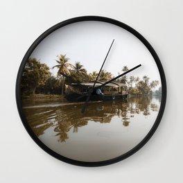 God's Country - Kerala, India Wall Clock