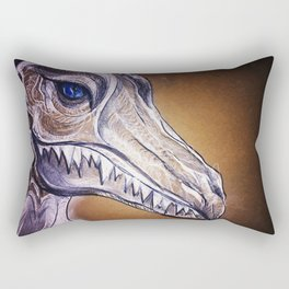 Glass Cannon Dragon Rectangular Pillow