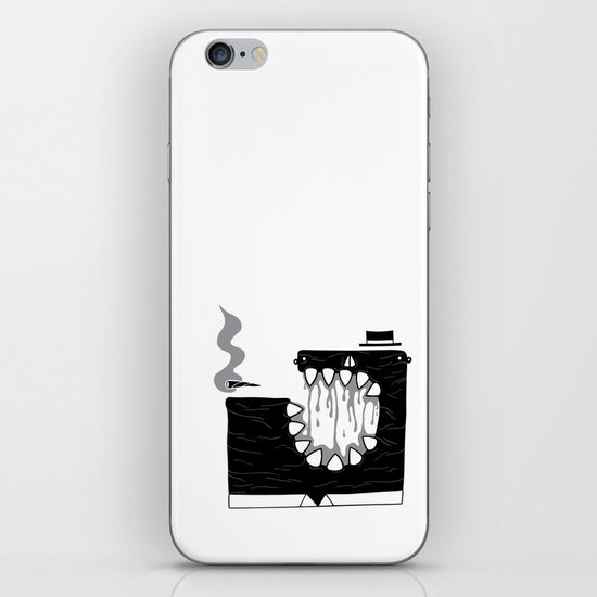 Zombie Boss iPhone & iPod Skin