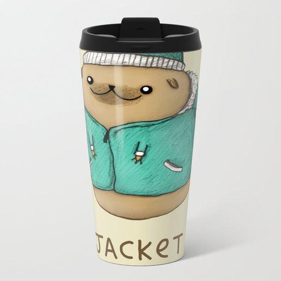 Jacket Pugtato Metal Travel Mug