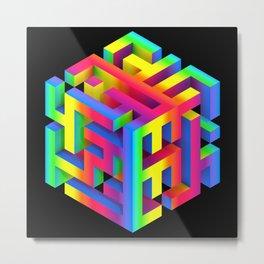 a.maze  Metal Print
