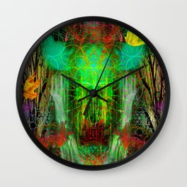 The Cooling Spirit of Autumn Wall Clock
