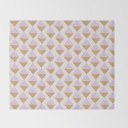 Lavender Ice Cream Throw Blanket