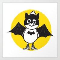 Bat Chicky Art Print