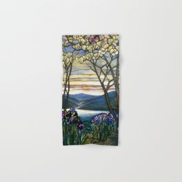Louis Comfort Tiffany - Decorative stained glass 5. Hand & Bath Towel