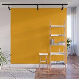 Solid Shades - Marigold Wall Mural