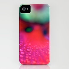 Psychedelic Flower Slim Case iPhone (4, 4s)