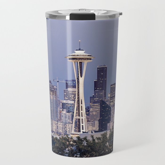 Space Needle Travel Mug
