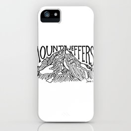 Mount Jefferson iPhone Case
