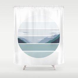 Alaskan Greens Shower Curtain
