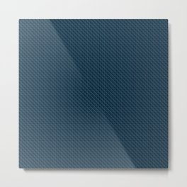 Diamond 3D Regent Blue Metal Print