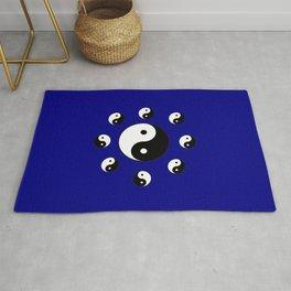 Yin and Yang 21- Tao,Zen,Taoism,Dao,Harmony,religion,buddhism,buddhist,taijitu,taiji,taoist,china Rug