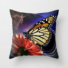 Butterfly Summer Dance  Throw Pillow