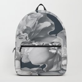 Elegant Peony Bouquet Gray Monochrome #decor #society6 #buyart Backpack