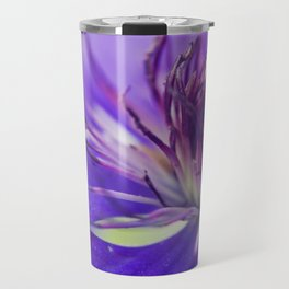A Calyx of Blue Travel Mug