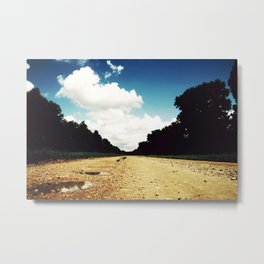 Open Road, Louisiana Metal Print