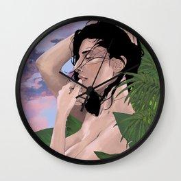 Arab girl Wall Clock