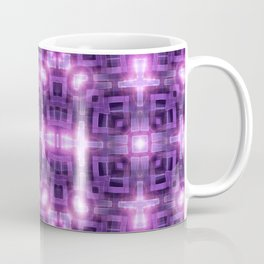 Pink Purple Squareza Coffee Mug
