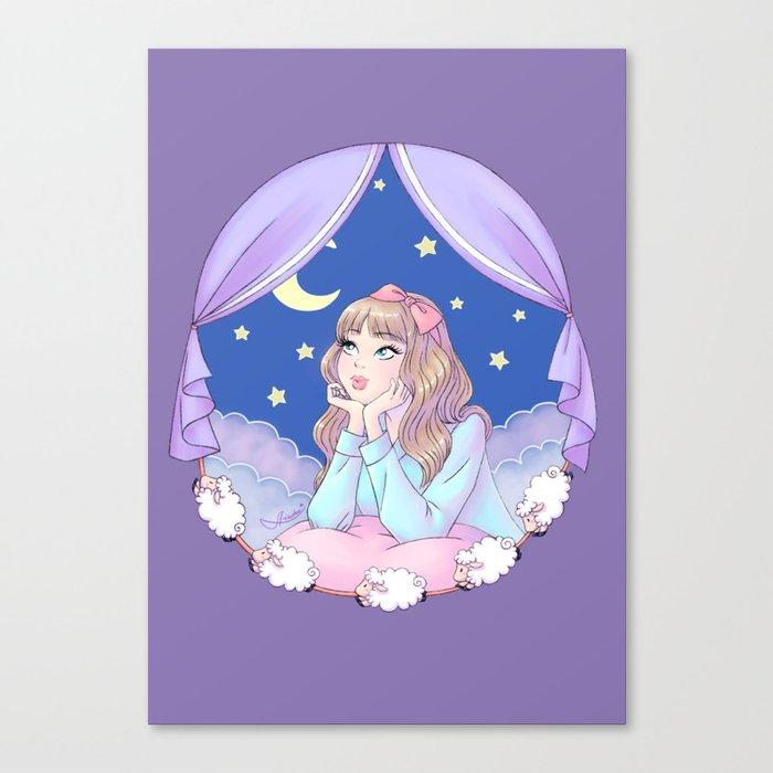 Night Dreamer Canvas Print