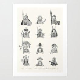 All Warriors Art Print