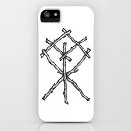 Rune Binding iPhone Case
