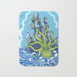 The Kraken Abides Bath Mat