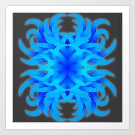 Floral Tentacles Art Print