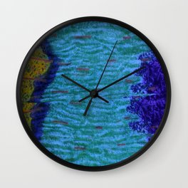 Tapestry 009 Wall Clock