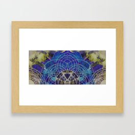 Astrological Map I Framed Art Print