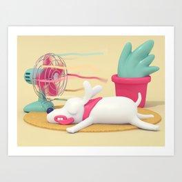 Summer Breeze! Art Print