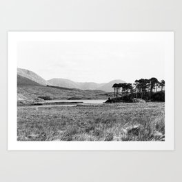 Derryclare Lough Art Print