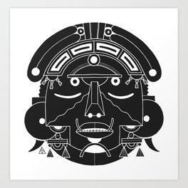 Lost Mask IV Art Print