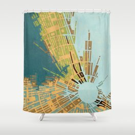 cypher number 11 (ORIGINAL SOLD). Shower Curtain