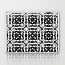Black & White Handkerchief Pattern Laptop & iPad Skin
