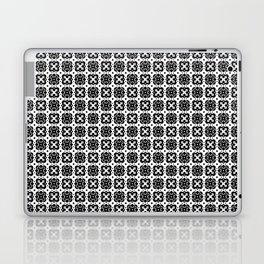 Black & White Handkerchief Pattern Laptop & iPad Skin