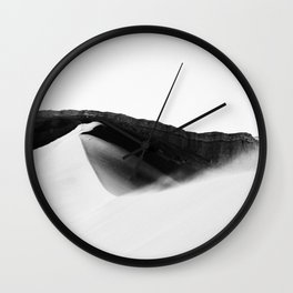 Chilean desert. Wall Clock