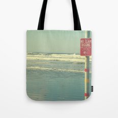 No Clam Digging Tote Bag
