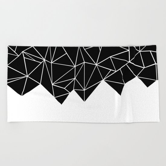 Ab Triangulation Beach Towel