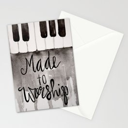 Made To Worship  Stationery Cards