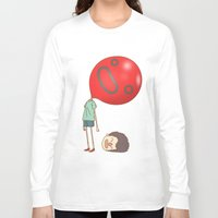 balloon Long Sleeve T-shirts featuring balloon by cedricel