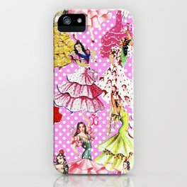 FLAMENCA POP PINK iPhone Case