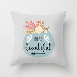 Self-Care Throw Pillow