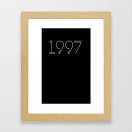 1997 Framed Art Print