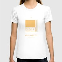 architect T-shirts featuring #WorkerEssentials - Architect by EHILAB