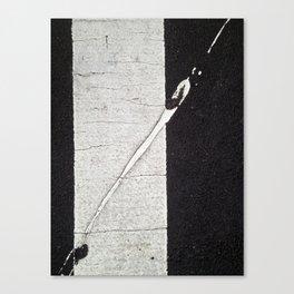 Jaywalking Canvas Print