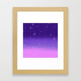 Wish Upon A Falling Star Framed Art Print