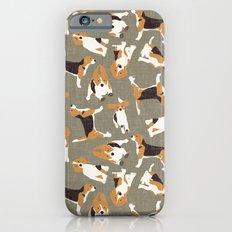 beagle scatter stone Slim Case iPhone 6