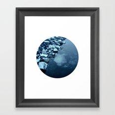 Telescope 10 ice  Framed Art Print