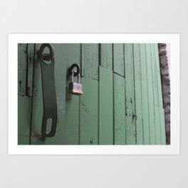 Unlocked Door Art Print