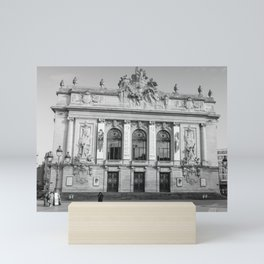 Opéra de Lille, France Mini Art Print